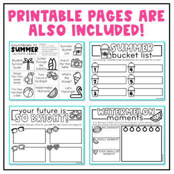 Countdown to Summer (End-of-the-Year Printables) by Create