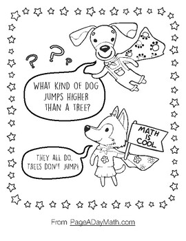 Counting, Coloring, Joke Book by Page A Day Math with the