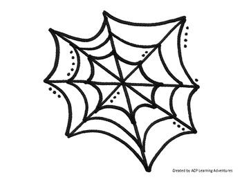 Counting Mats 1-10--Spider Webs & Spiders by Early