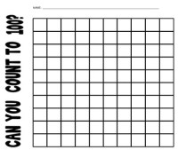 Counting To 100 Worksheet by Kids and Coffee | Teachers ...
