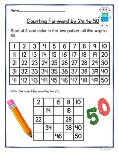 also counting by   and to worksheets rh teacherspayteachers