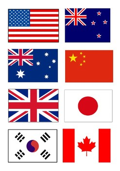 country flags chinese mandarin