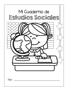 Cover Pages for Interactive Notebooks (English & Spanish