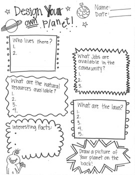 Planets Worksheets For First Grade. Planets. Best Free