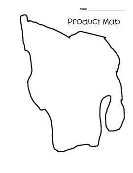 Create a Physical and Product Map by Christine's Colorful