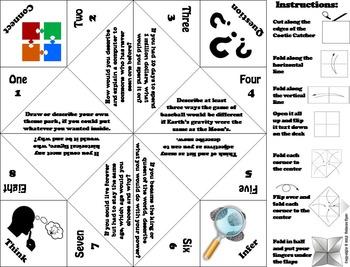 Creative and Critical Thinking 7th 6th 5th 4th Grade