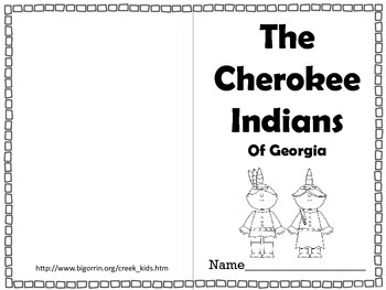 Creek and Cherokee Indians of Georgia Interactive Review