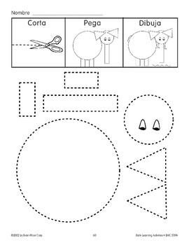 Cut/Paste/Draw: Elephant by Evan-Moor Educational