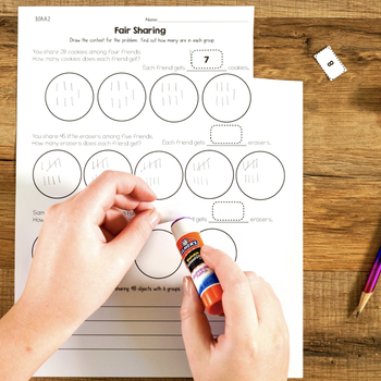 Cut and Paste Math Activities for Third Grade Most