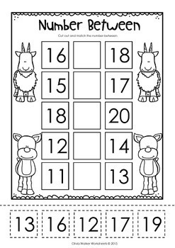 Cut and Paste Math Worksheets / Printables for