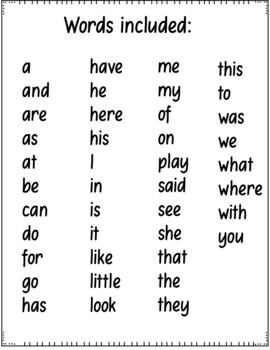 Cut and Paste Sentences (CA Treasures Kindergarten High