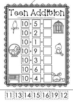 Image Result For Math Worksheets Addition