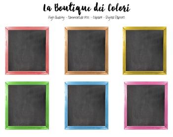 cute colorful framed chalkboard