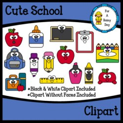 Cute School Clipart Worksheets & Teaching Resources TpT