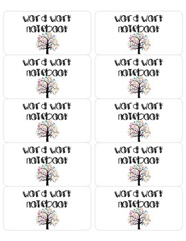 Cute Student Notebook/Folder Labels (Subject Specific)! by