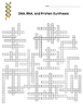 DNA, RNA, Protein Synthesis Crossword Puzzle by Amy Brown