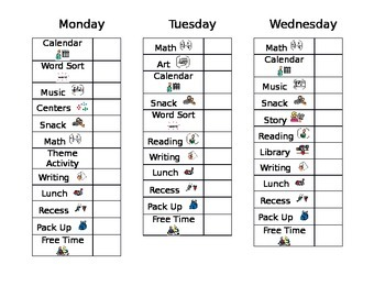 Daily Behavior Chart- Editable by Especially for Special