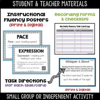 Daily Fluency Task Cards (Beginner Level 1) by