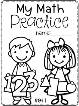 Set 1 SEPTEMBER Daily Math Practice and Review Worksheets