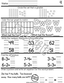 Daily Math Primary Print Bundle Vol. 1-9 by Reagan
