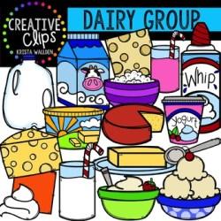 dairy clipart clips creative digital