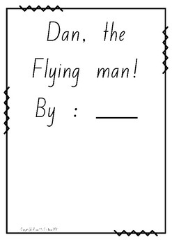 Dan The Flying Man Class Book Template by