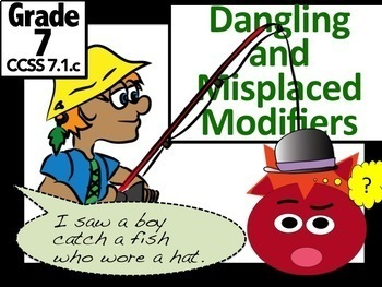 Dangling And Misplaced Modifiers Hilarious Lesson Ppt