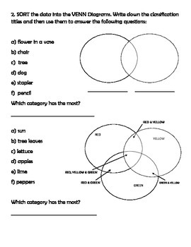 Data Management Pre and Post Math Test for Grade 3 by