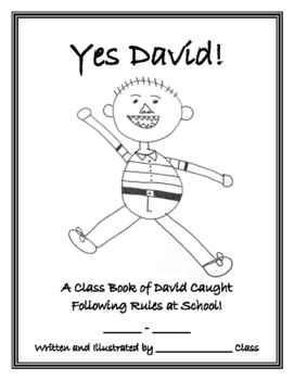 David Goes to School Class Book, Yes David! by Wilton's