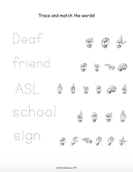 Deaf and Proud: An Activity Packet for ages 5-10 by Mimi's