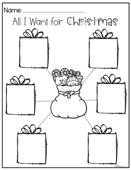 Dear Santa- Craft and Writing Templates by Miss