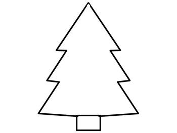 Christmas Tree Do Together Parent/Child Homework Activity