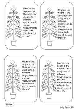 December Math Journal Prompts Second Grade by Holly Rachel