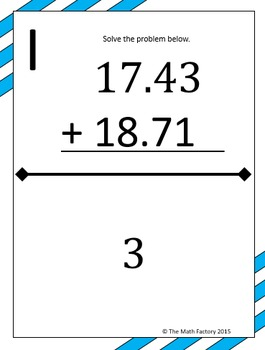 Decimal Mixed Operations Scavenger Hunt Activity by The
