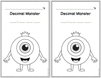 Decimal Place Value and Rounding Coloring Activity by