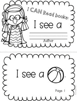 Rebus Readers: Kindergarten, RTI, Guided Reading by Loving