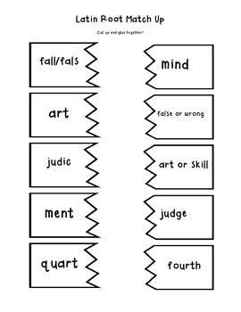 Decoding Detectives: Latin Root & Word Vocabulary Study