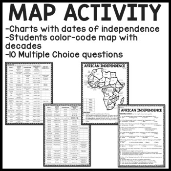 Decolonization of Africa Reading Comprehension Worksheet
