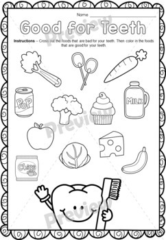 Dental Health Care Activities {Worksheets & Crafts} by