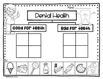 Dental Health Activities with Tooth Fairy Application and