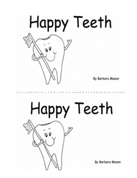 Dental Health Printable Book Guided Reading: Level C by