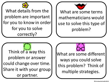 Depth & Complexity Primary Math Word Problems Bundle by