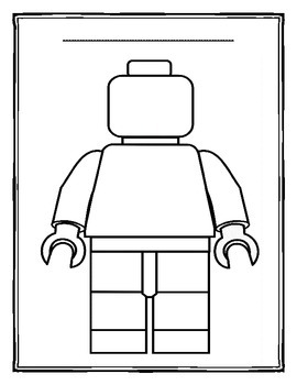 Descriptive Writing LEGO Character Activity by All Things