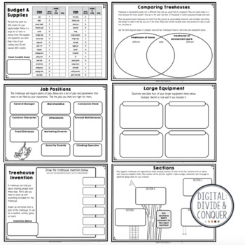 Design A Treehouse, A Project Based Learning Activity (PBL