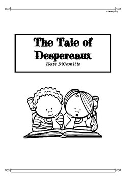 The Tail of Despereaux Chapter-by-Chapter Higher Order