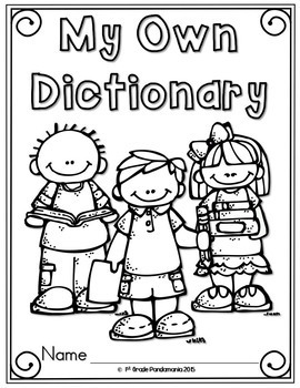Journeys 2nd Grade Dictionary Reading and Writing Resource