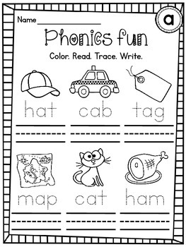 Cvc Words Differentiated Worksheets Pack By Miss Giraffe
