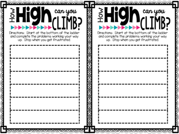 Differentiated Exit Ticket Template by Ciera Harris from Adventures ...