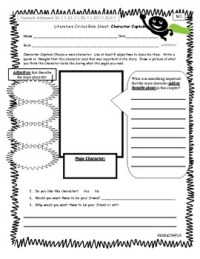 Worksheet Place Literature Circles - Kidz Activities
