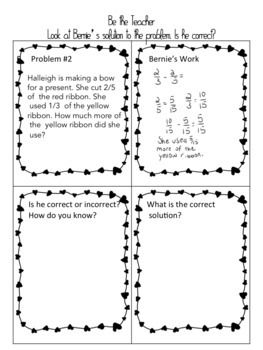 Differentiated Math Activities: Fraction Bundle ( 4th and